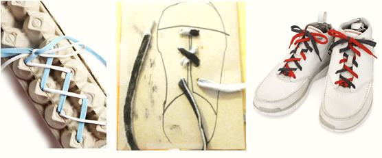 tie a shoe