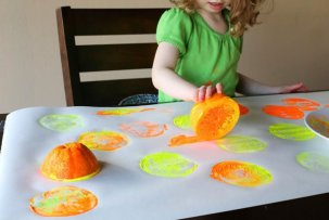 orange stamping
